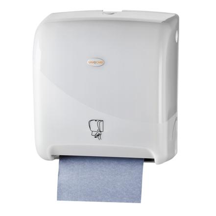 4288handdoek_dispenser_matic_no_touch_uniqcare_wit_pearl_wg