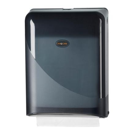 4442vouwhanddoek_dispenser_z-vouw_uniqcare_zwart_pearl_wg