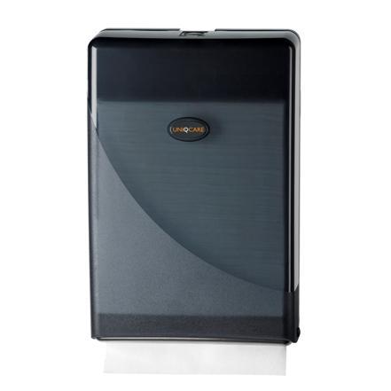 5501vouwhanddoek_dispenser_uniqcare_zwart_pearl_wg